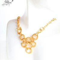 گردنبند حلقه ای طرح سینه ریز زنانه برند ژوپینگ کد:2981