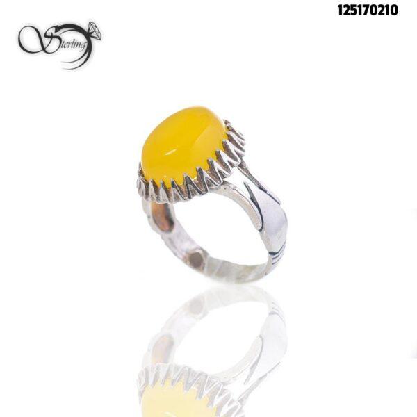انگشتر شرف الشمس نقره مردانه خوش رکاب کد:۱۸۱۷