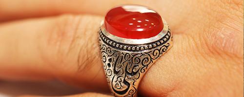 انگشتر مردانه - محصولات نقره