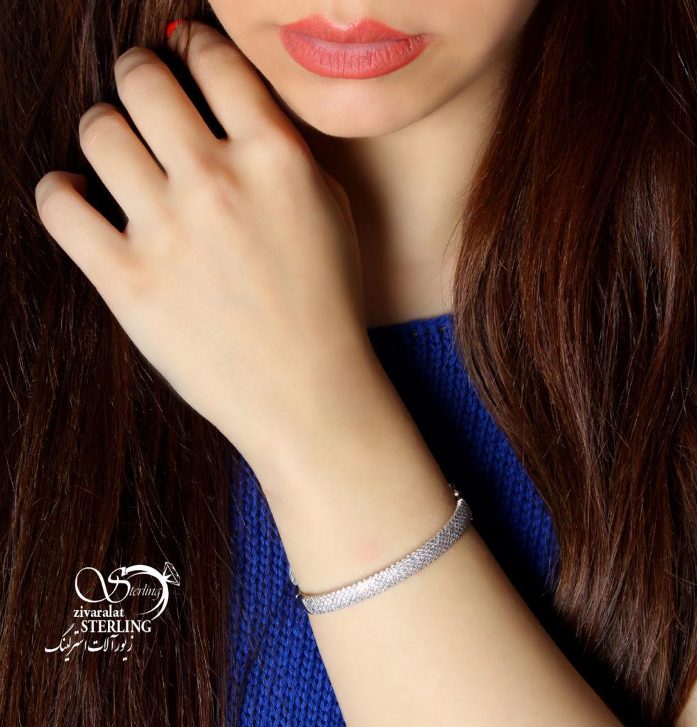 دستبند پرنس رنگ ثابت کد:۲۲۴۶