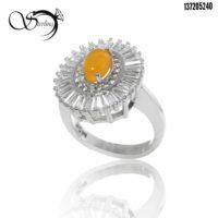 انگشتر شرف الشمس نقره زنانه کد:۲۳۸۹