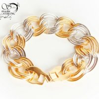 دستبند زنانه برند Xuping دورنگ کد:۲۸۷۲
