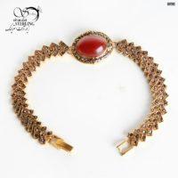 دستبند استیل عقیق زنانه کد:۲۸۸۲