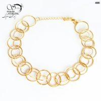دستبند زنانه حلقوی کد:۲۸۸۵