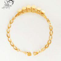 دستبند ناخنی زنانه طرح طلا کد:۲۸۸۶