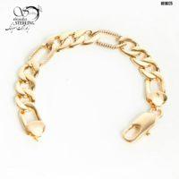 دستبند زنانه برند ژوپینگ طرح فیگارو درشت کد:۲۹۰۳