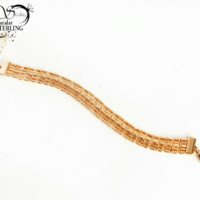 دستبند زنانه برند Xuping طرح 4ردیفه کد:2951