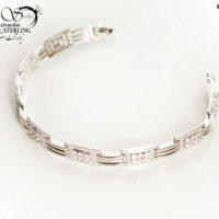 دستبند زنانه برند Xuping نگین دار کد:2952